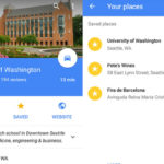 How to Save a favorite place on Google Map?