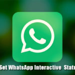 How to set your Interactive Status on WhatsApp?