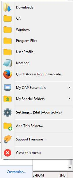 Quick-access-popup-software