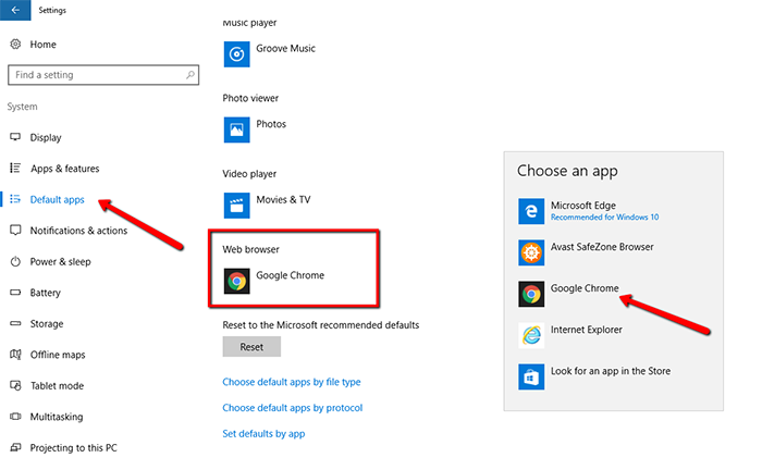 How To Set Chrome As Default Browser In Windows 10