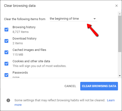 GoogleChrome-clear-browsing-History