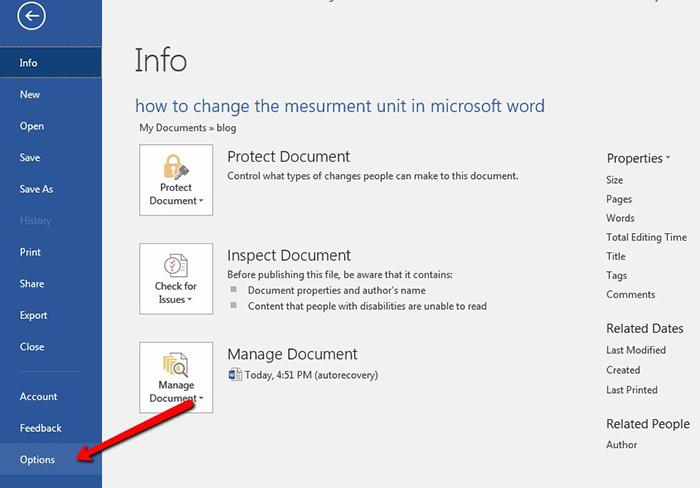 change-measurement-unit-in-MSWord