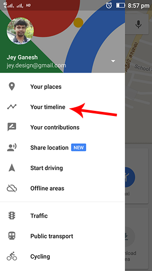 google-maps-timeline-settings