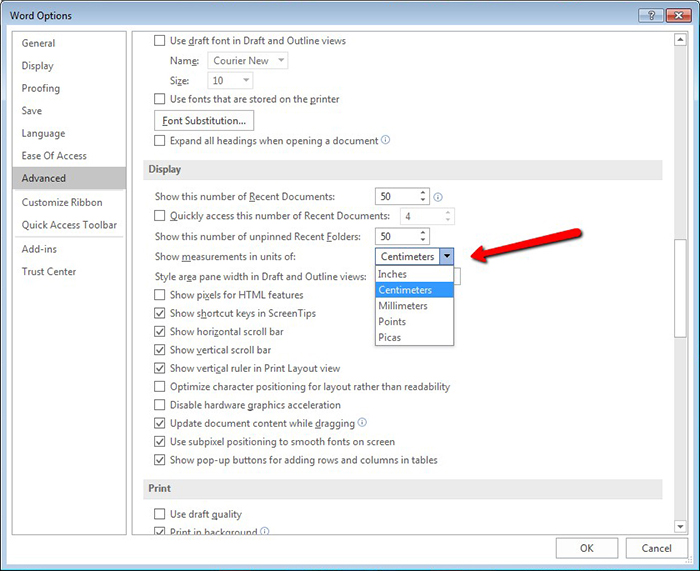 how-to-change-measurement-unit-in-MSWord