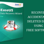 An easy way to recover your data using EaseUS Data Recovery Wizard