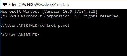 open-control-panel-command-prompt
