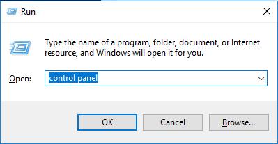open-control-panel-run-mode