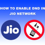 How to Enable DND in Jio Network?